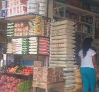 LAGO AGRIO, Ecuador.- El desempleo golpea a la transportación pesada y el flujo comercial ha descendido. Foto: Internet