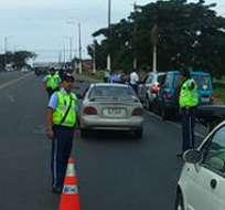 Más de 30.000 policías participarán en operativos de Navidad y Año Nuevo. Foto: Twitter ATM