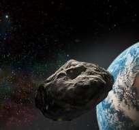El asteroide es tan solo cinco veces menor que el cuerpo que terminó con la vida de los dinosaurios en planeta.