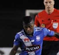 GUAYAQUIL, Ecuador.- Bolaños marcó goles en Copa Libertadores y Copa Sudamericana.