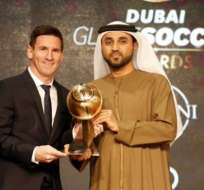 Otro reconocimiento recibió el jugador argentino Lionel Messi en este año.