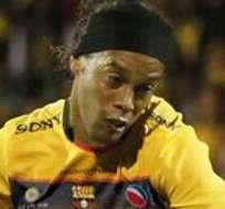 GUAYAQUIL, Ecuador.- La presencia de Ronaldinho podría ser un golpe mediático. Foto: Twitter.