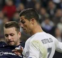MADRID, España.- Cristiano anotó cuatro de los tantos 'merengues'. Foto: EFE.