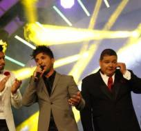 GUAYAQUIL, Ecuador.- Loaiza disputó los primeros lugares con un grupo de teatro de adultos mayores, una acróbata y seis cantantes. Foto: Ecuavisa.com