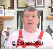 """Chabelo se despidió de sus """"cuates"""" con un video por Youtube. Foto: BBC MUNDO"""