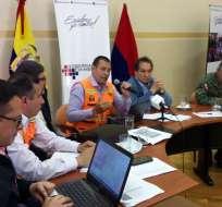 COE descartó que deshielos del Chimborazo se asocien con proceso eruptivo. Foto: Secretaría de Gestión de Riesgos