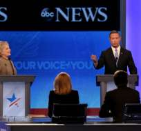 """Los precandidatos presidenciales definieron a Trump como """"reclutador"""" del Estado Islámico. Foto: AFP"""