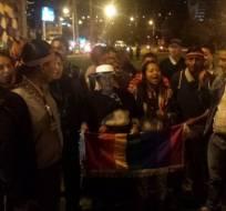 Organizaciones gremiales y sociales preparan más movilizaciones para este jueves. Foto: Conaie / Twitter