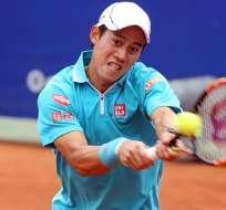 Nishikori espera revalidar su título en Barcelona, en el torneo Conde de Godó.