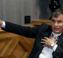 En debate de enmiendas, se aprobó transitoria que impide postulación del mandatario. Foto: Flickr / Presidencia del Ecuador