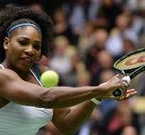 La tenista estadounidense Serena Williams fue nombrada por la WTA comomejor tenista del mundo.