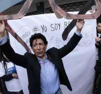 QUITO, Ecuador.- Esta es la cuarta denuncia contra caricaturas de Xavier Bonilla, ya antes se le solicitó disculpas públicas y se multó a Diario El Universo.  Foto: Archivo.
