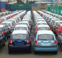 ECUADOR.- La cuota para importar vehículos y piezas de ensamblaje es de USD 650 millones en 2016. Foto: Archivo