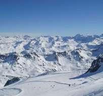 El alud cobró la vida de dos adolescentes franceses y a un esquiador ucraniano. Foto. Referencial / www.viajeseco.com