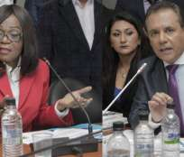 QUITO, Ecuador.- El superintendente Ochoa defendió la ley actual y pidió que estas reformas propuestas por la asambleísta Montaño se archiven. Foto: Flickr Asamblea.
