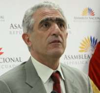 QUITO, Ecuador.- La Comisión de Relaciones Internacionales y Seguridad pide la renuncia de Bustamante. Foto: Archivo