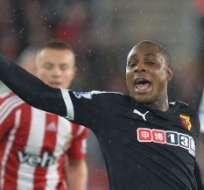 LONDRES, Inglaterra.- El Watford ascendió esta temporada a la Liga Premier. Foto: AFP.