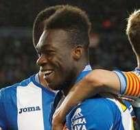 BARCELONA, España.- Felipe Caicedo es figura del Espanyol.