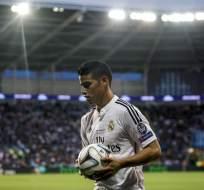 MADRID, España.- James ha sido relegado a la banco por el buen nivel de Isco.