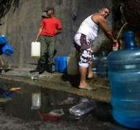 Venezuela padece un severo racionamiento de agua en varias zonas del país. Foto: AFP