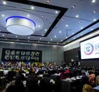 Más de 20 mandatarios y delegados de 33 países debatirán sobre la paz en la región. Foto: EFE