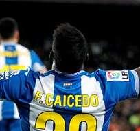 BARCELONA, España.- El futuro del Espanyol tiene grandes planes y Caicedo quiere ser parte.