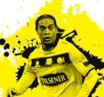 GUAYAQUIL, Ecuador.- Ronaldinho llega hoy, jueves, a Ecuador.