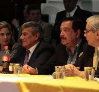 QUITO, Ecuador.- Dirigentes socialcristianos lanzan una propuesta para nuevos líderes. Foto: API