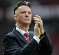 Louis van Gaal expresó su alegría por la llegada de Pep Guardiola a la Liga Premier de Inglaterra.