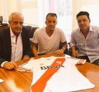 BUENOS AIRES, Argentina.- D'Alessandro firmó con su contrato con River.