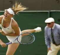 La rusa Maria Sharapova no jugará el torneo de Doha por una lesión en su antebrazo izquierdo.