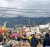 El Municipio anunció que no activará fondos de emergencia porque caso no aplica. Foto: Bomberos Quito