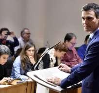 El candidato debe obtener el apoyo de una mayoría absoluta de los 350 diputados. Foto: AFP