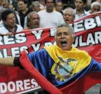 El FUT anunció movilización nacional en contra de las políticas económicas del Gobierno. Foto: Referencial / Archivo