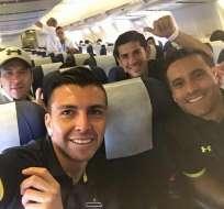 El plantel de Colo Colo se desplazó a Quito y de ahí viajará a Sangolquí donde jugará ante Independiente del Valle.