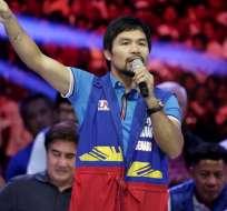 Manny Pacquiao justificó sus comentarios homofóbicos amparándose en citas bíblicas.