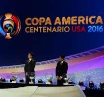 NUEVA YORK, Estados Unidos.- Se realizó el sorteo de la Copa América. Foto: AFP.