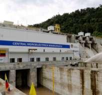 Central hidroeléctrica de Manduriacu. Foto tomada de El Ciudadano