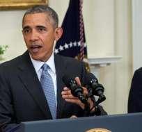 La iniciativa es un intento cuesta arriba de Obama por convencer a los republicanos de cambiar de opinión, en plena batalla por las elecciones presidenciales de noviembre. foto: EFE