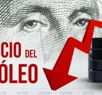 Precio del crudo cae un 4,55 % y cierra en 31,87 dólares el barril