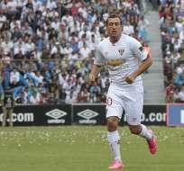 Brahian Alemán jugó en 2016 para el cuadro 'albo' con el que no tuvo una buena temporada. Foto: Archivo