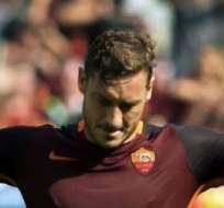 ROMA, Italia.- El único infaltable en el FIFA es Totti.