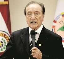 Eugenio Figueredo enfrentaría un juicio civil por parte de la Conmebol.