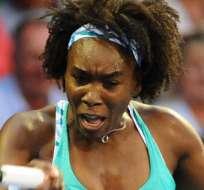INDIANA, Estados Unidos.- Venus sigue los pasos de su hermana Serena, que ya jugó el torneo.