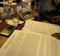 ECUADOR.- En el documento se proponen cambios en el sistema de pasantías, jornada laboral y seguro de desempleo. Foto: API