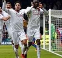 Liverpool se impuso en condición de visitante al Crystal Palace con un hombre menos en el terreno de juego.