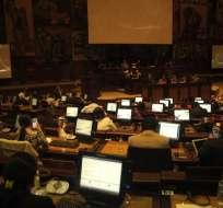 QUITO, Ecuador.- El seguro de desempleo y la reducción de la jornada laboral son parte de la propuesta. Foto: Asamblea Nacional