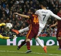MADRID, España.- Cristiano abrió el marcador y está cerca de un récord europeo. Foto: EFE.