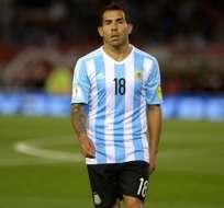 Carlos Tevez no fue convocado por Gerardo Martino para los partidos por eliminatorias.