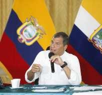 Correa hizo estas declaraciones en el marco de su conversatorio semanal con la prensa. Foto: Flickr, Asamblea